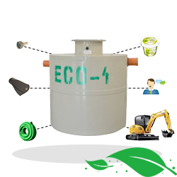 ECO4 septic tank + installation package Bucuresti Arad