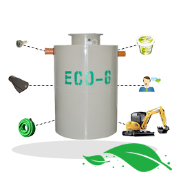 ECO6 septic tank + installation package Arad Bucuresti